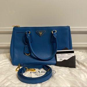 Prada Galleria Saffiano Bag  #bluette